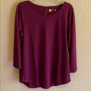 "Xersion Tops - NWT Xersion Crew Neck 3/4"" Sleeve TShirt"